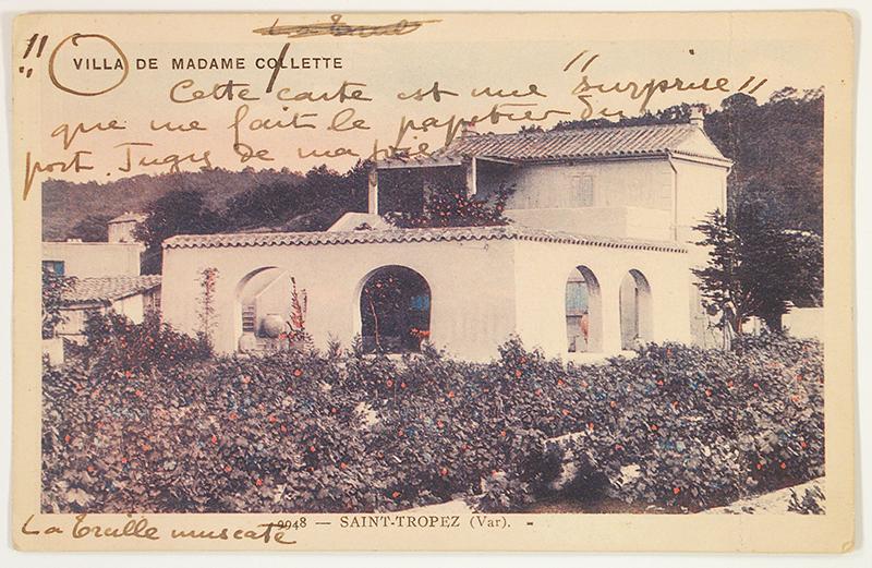 Colette Treille muscate Saint-Tropez